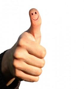 Stupid thumbs up score