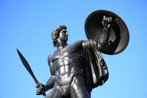 Statue of Achillies